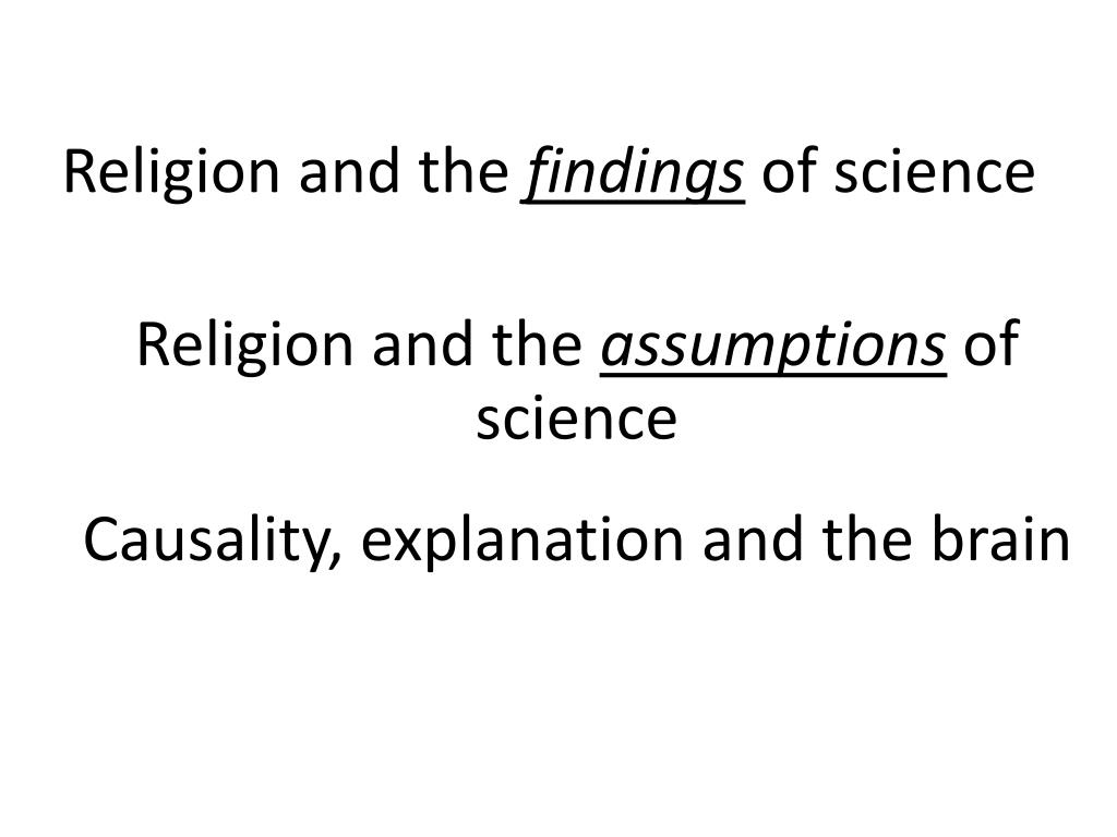 Religion and the