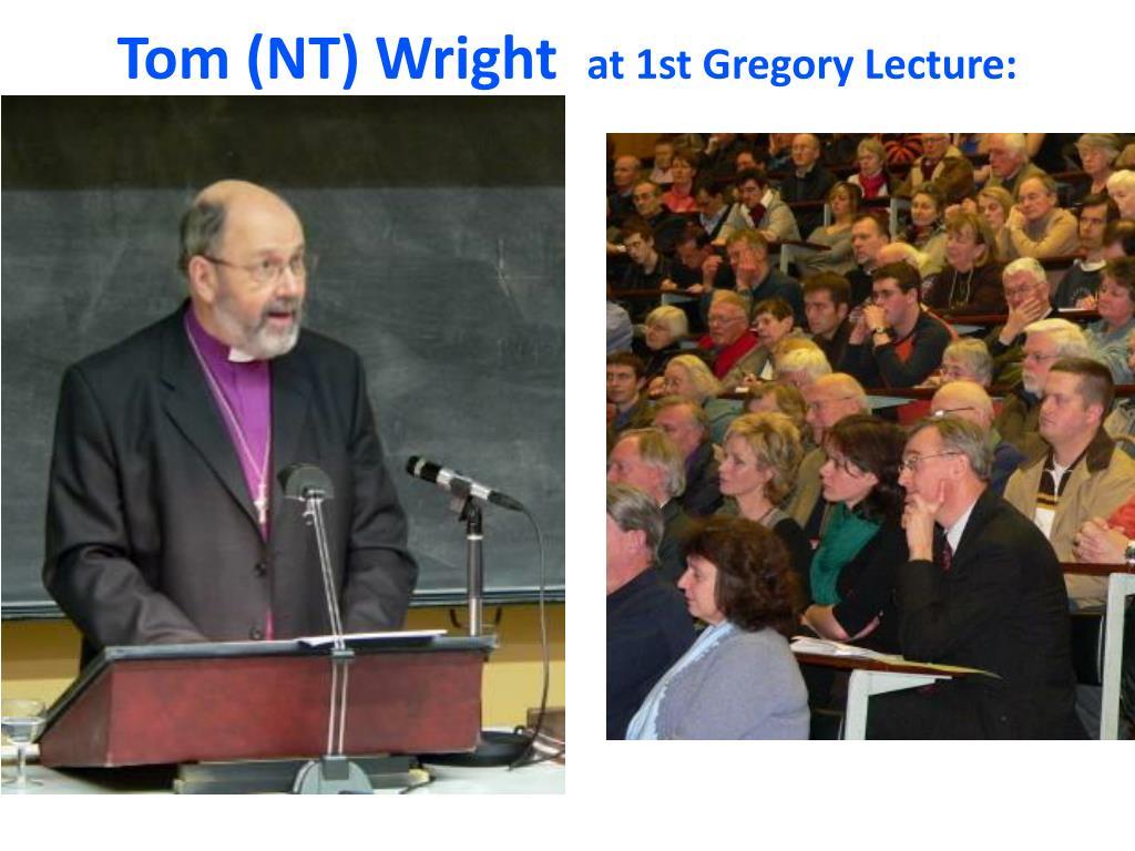 Tom (NT) Wright