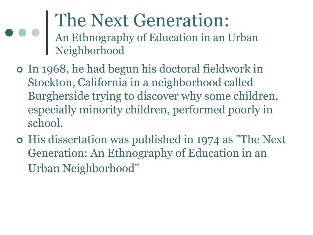 The Next Generation:
