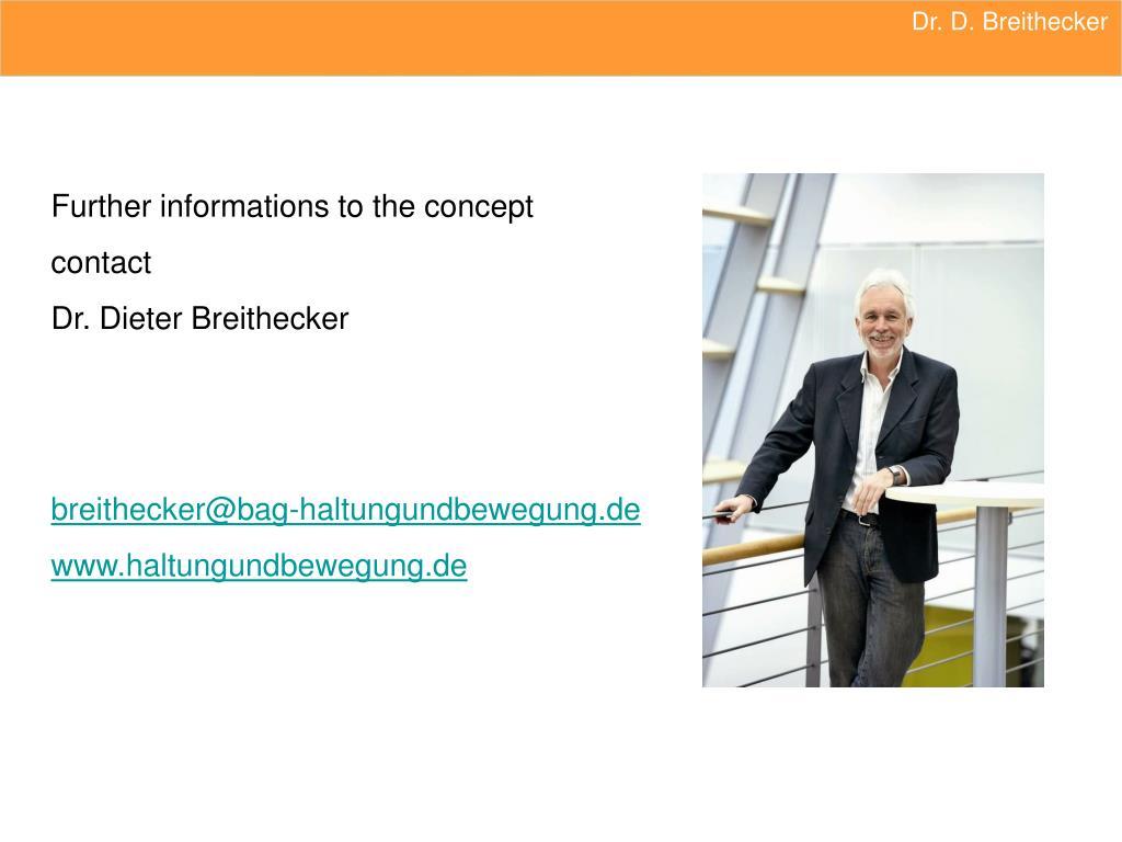 Dr. D. Breithecker