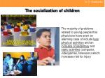 the socialization of children