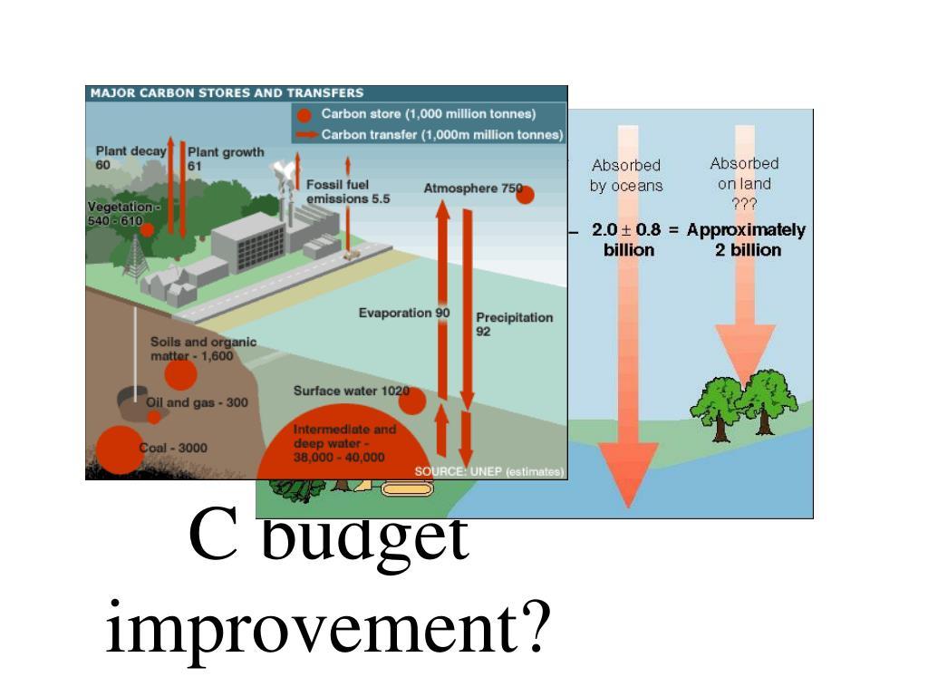 C budget improvement?