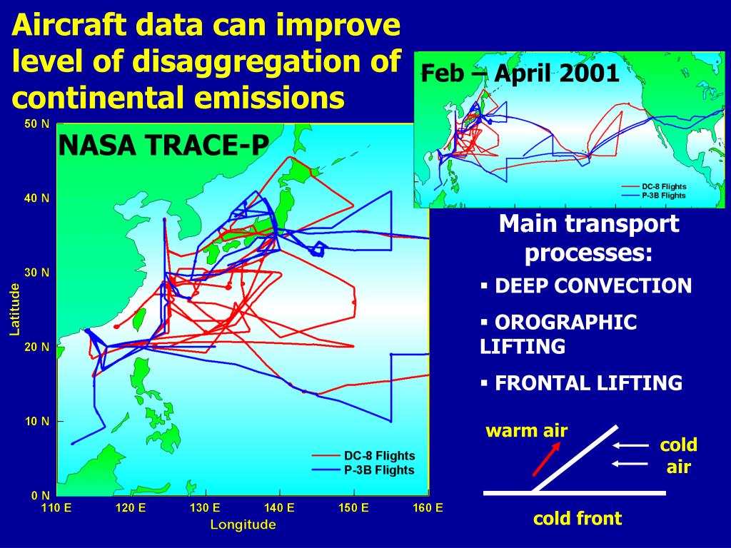 Aircraft data can improve level of disaggregation of continental emissions