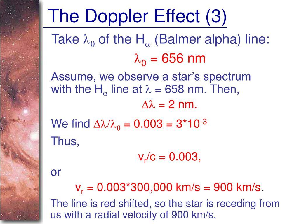The Doppler Effect (3)