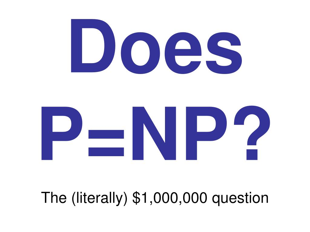 Does P=NP?