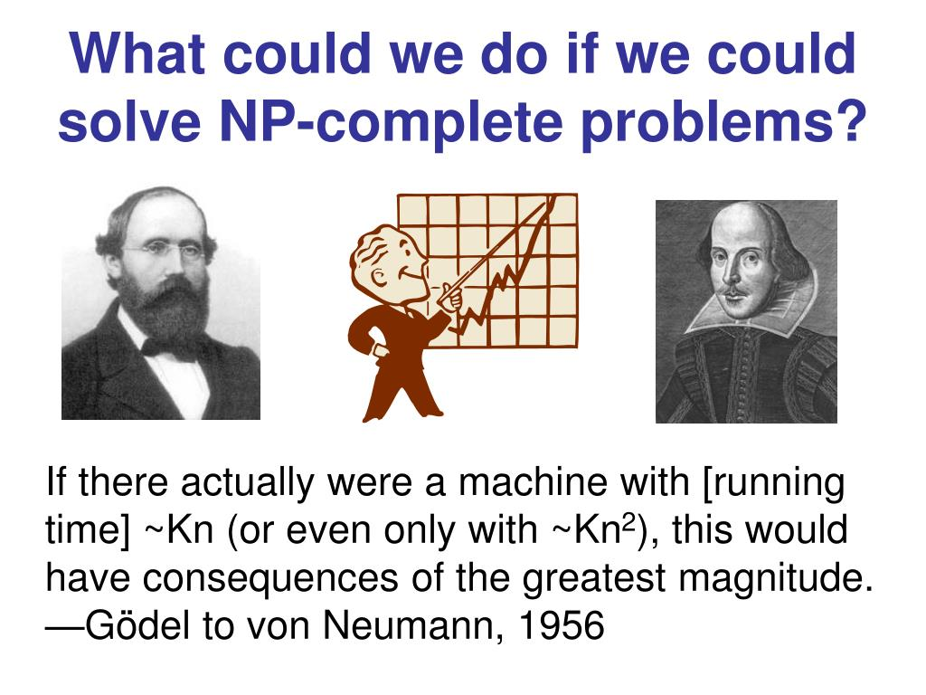 What could we do if we could solve NP-complete problems?