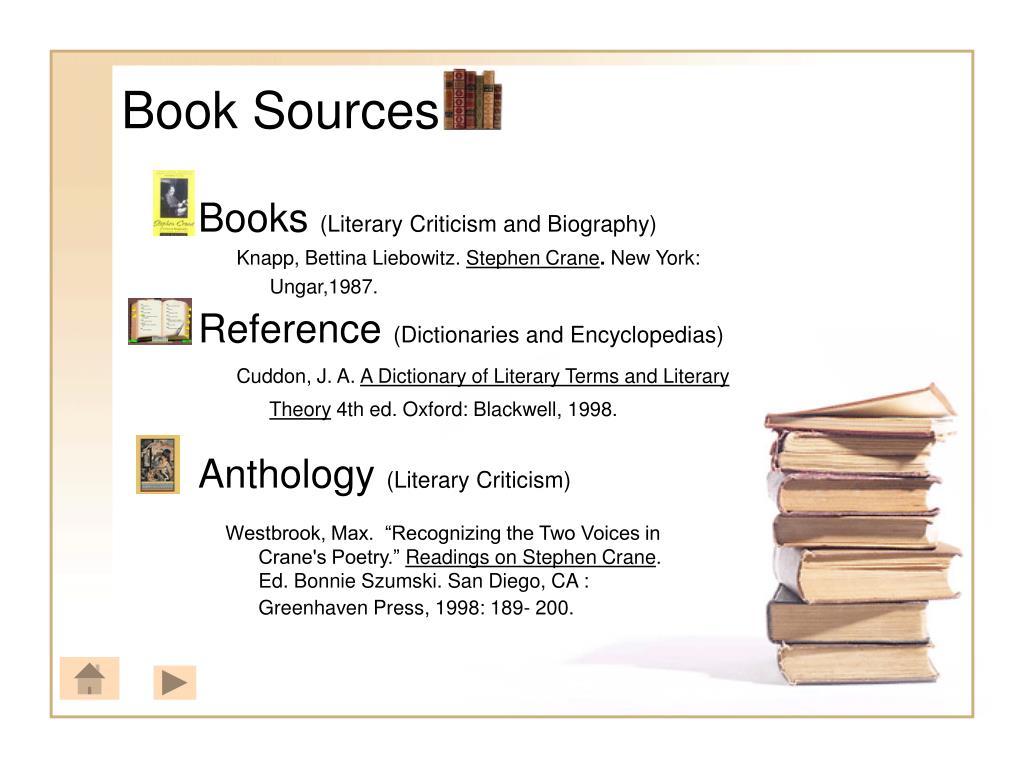 Book Sources