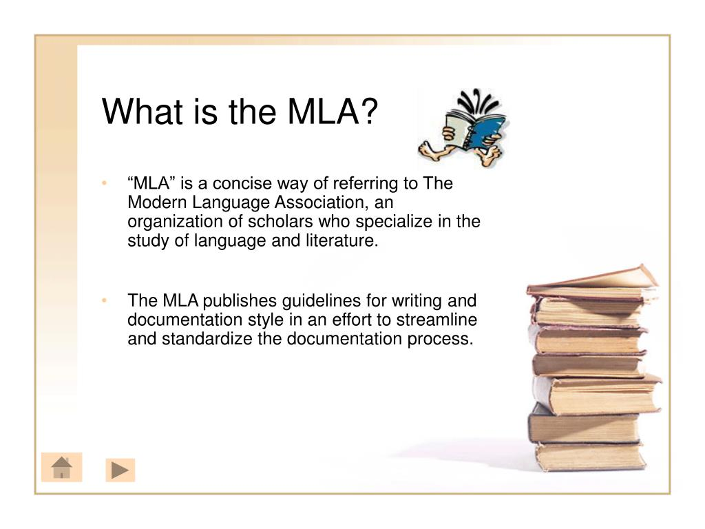 What is the MLA?