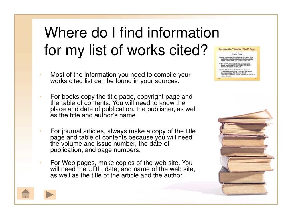 Where do I find information