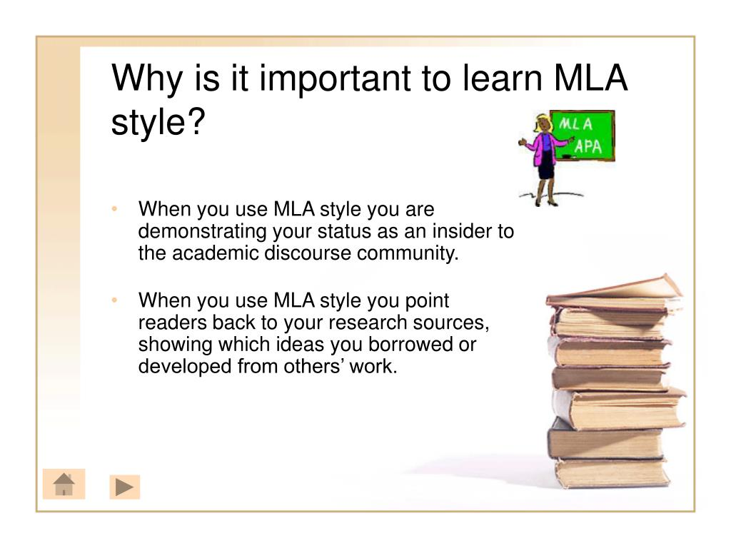 Why is it important to learn MLA style?