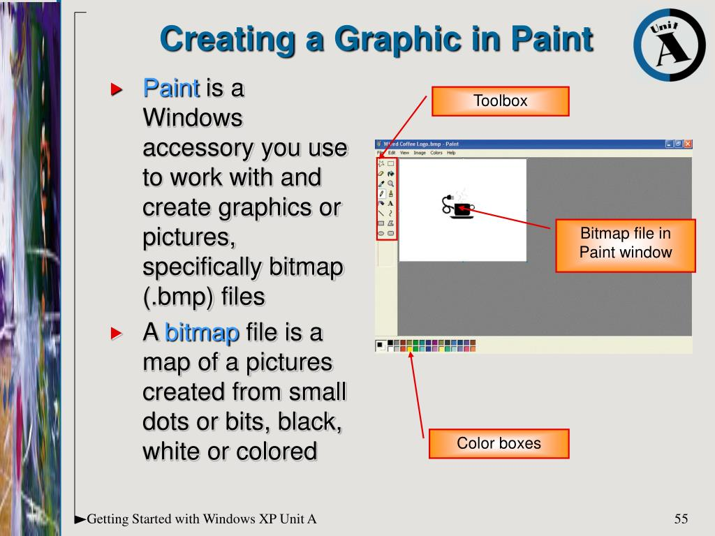Creating a Graphic in Paint