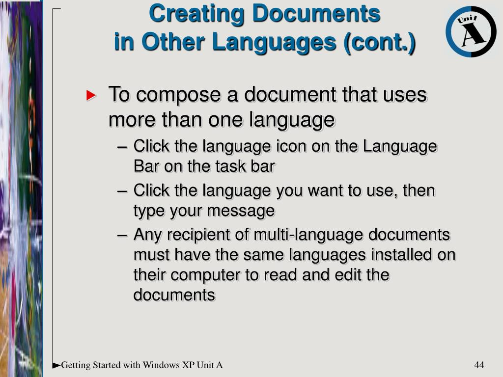 Creating Documents