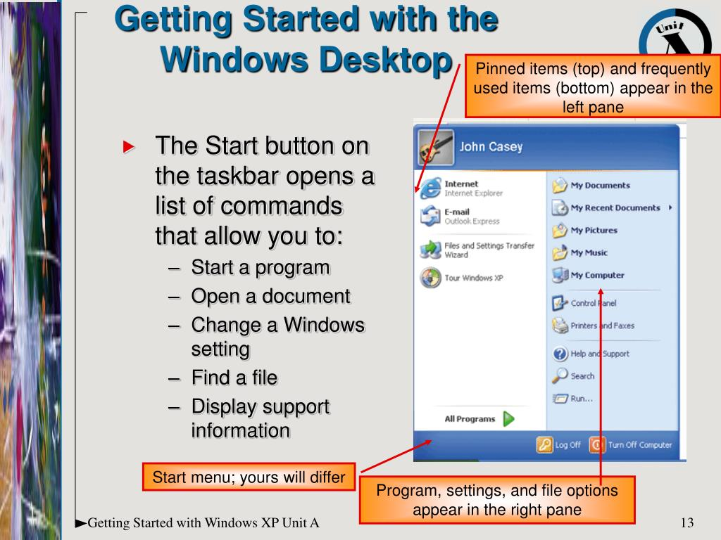 Getting Started with the Windows Desktop