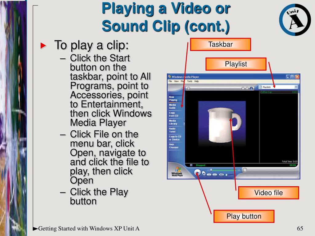 Playing a Video or