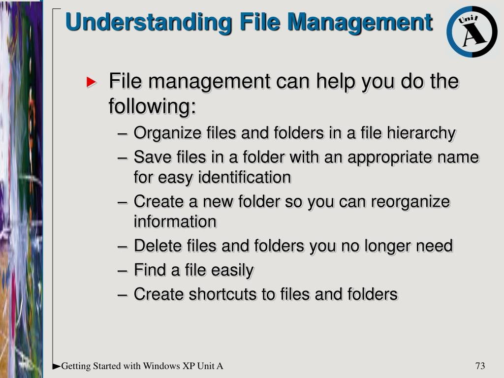 Understanding File Management
