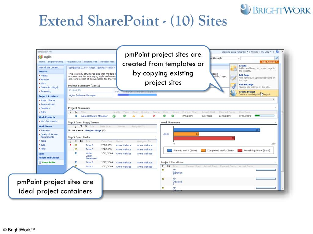 Extend SharePoint - (10) Sites