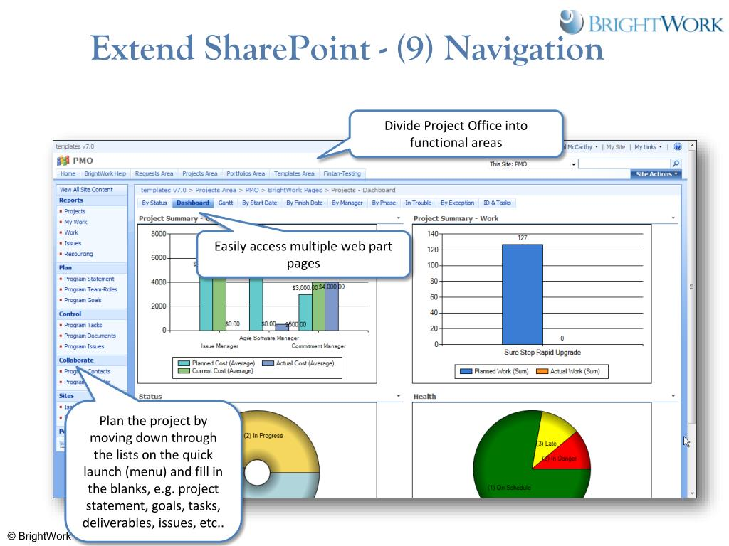 Extend SharePoint - (9) Navigation