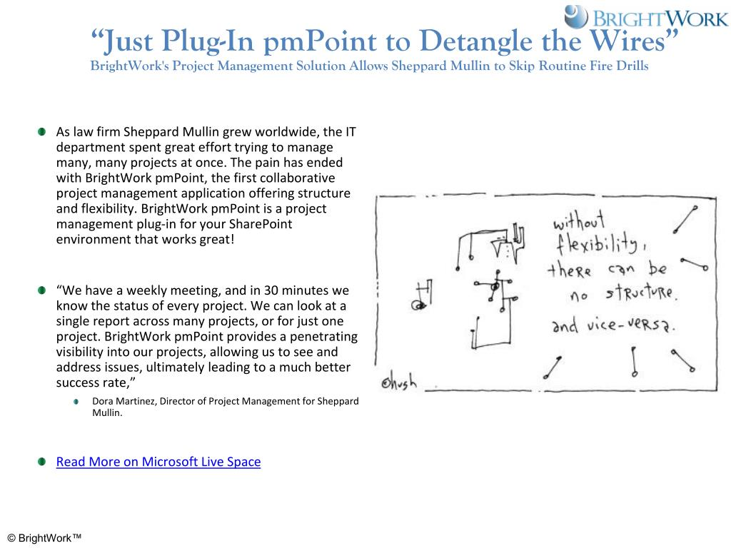 """Just Plug-In pmPoint to Detangle the Wires"""