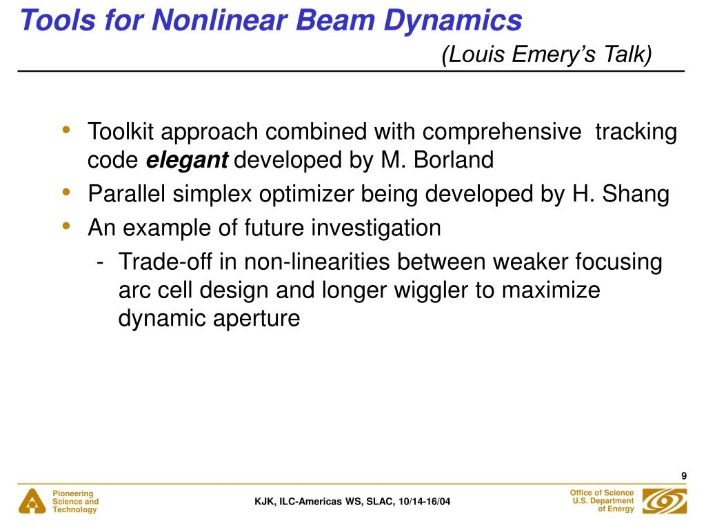 Tools for Nonlinear Beam Dynamics