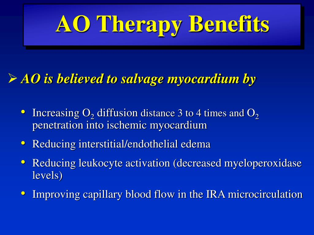 AO Therapy Benefits