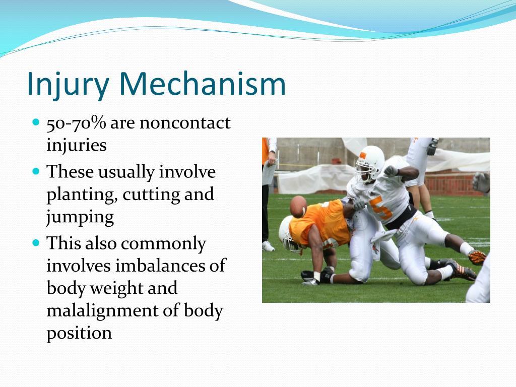 Injury Mechanism