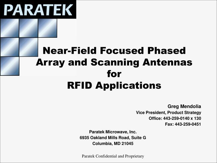 Near field focused phased array and scanning antennas for rfid applications l.jpg