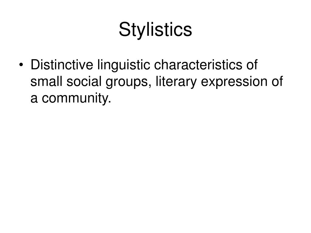 stylistic functions of grammar categories and Articles the findings were that language teaching research articles contained six stylistic patterns and communicative functions pattern i consisted of seven salient positive technique to describe communicative functions of lexico- grammatical adverbial clauses, complement clause types, public verbs, suasive verbs.