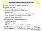 nonmethane hydrocarbons