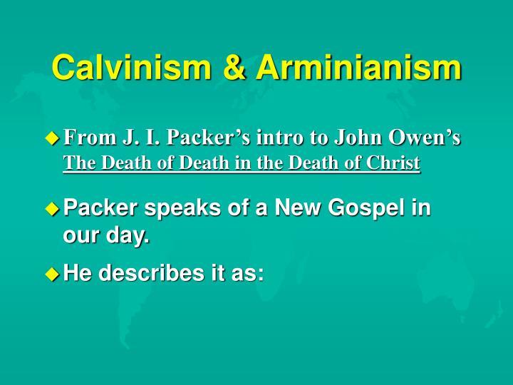 Calvinism & Arminianism