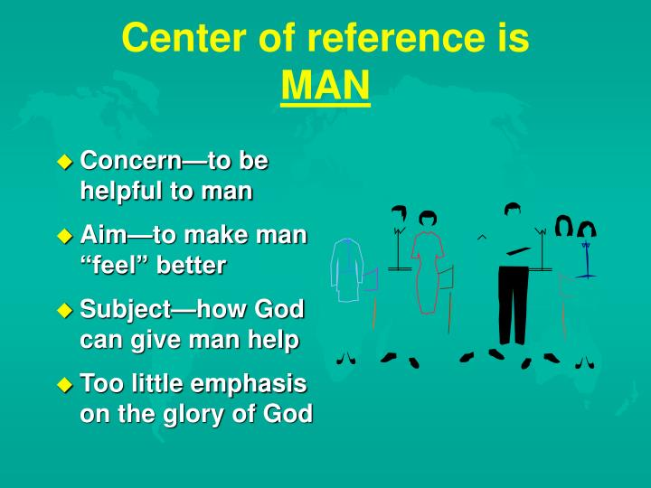 Center of reference is
