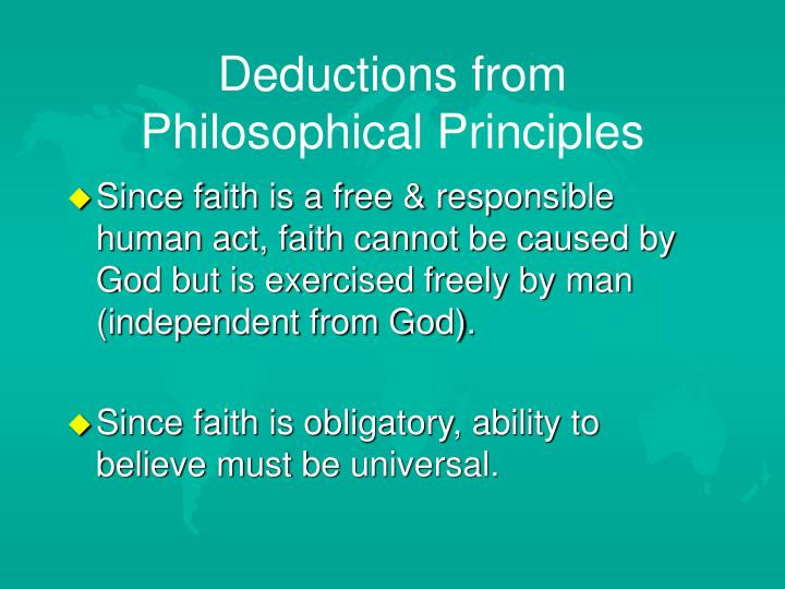 Deductions from