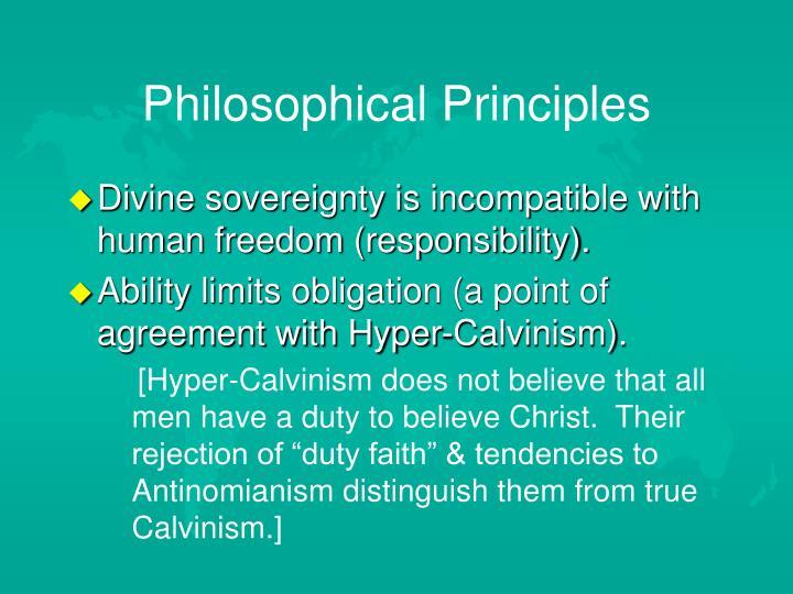 Philosophical Principles