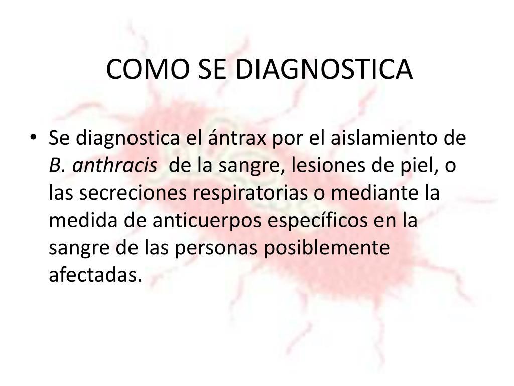COMO SE DIAGNOSTICA