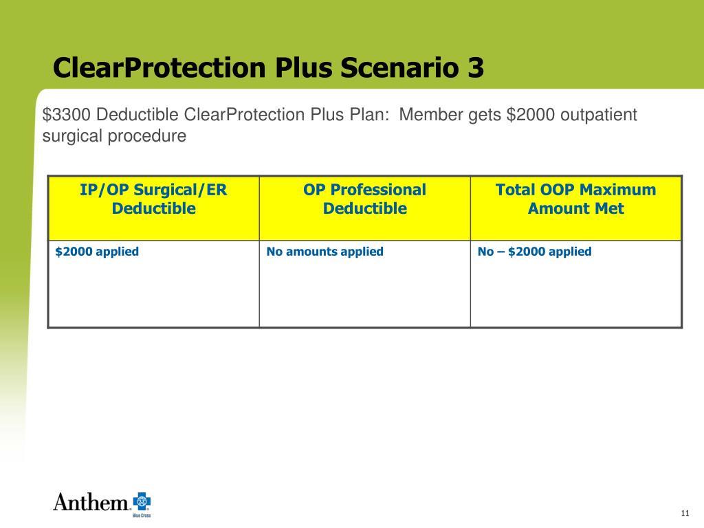 ClearProtection Plus Scenario 3