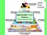 high health low sickness eating a balanced diet
