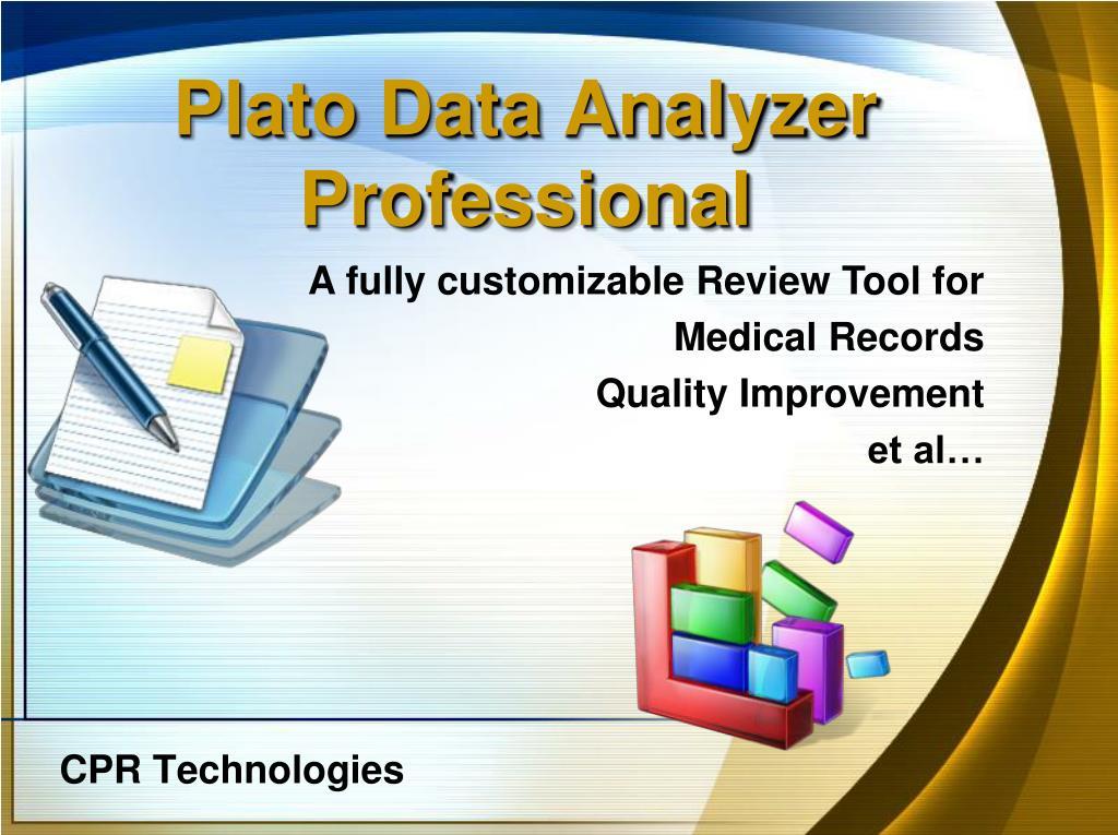 Plato Data Analyzer Professional