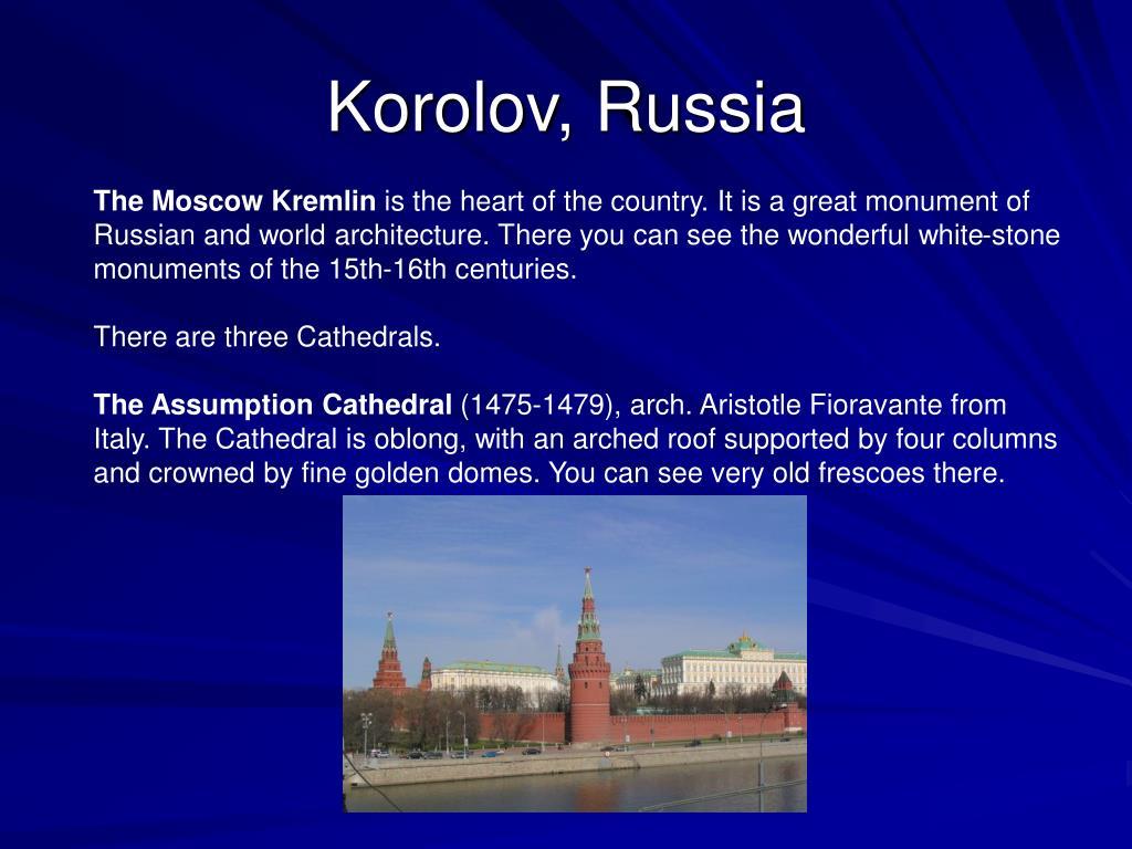 Korolov, Russia