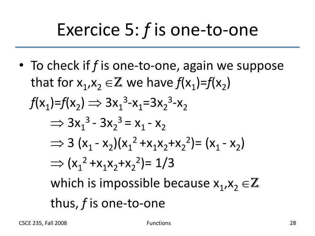 Exercice 5: