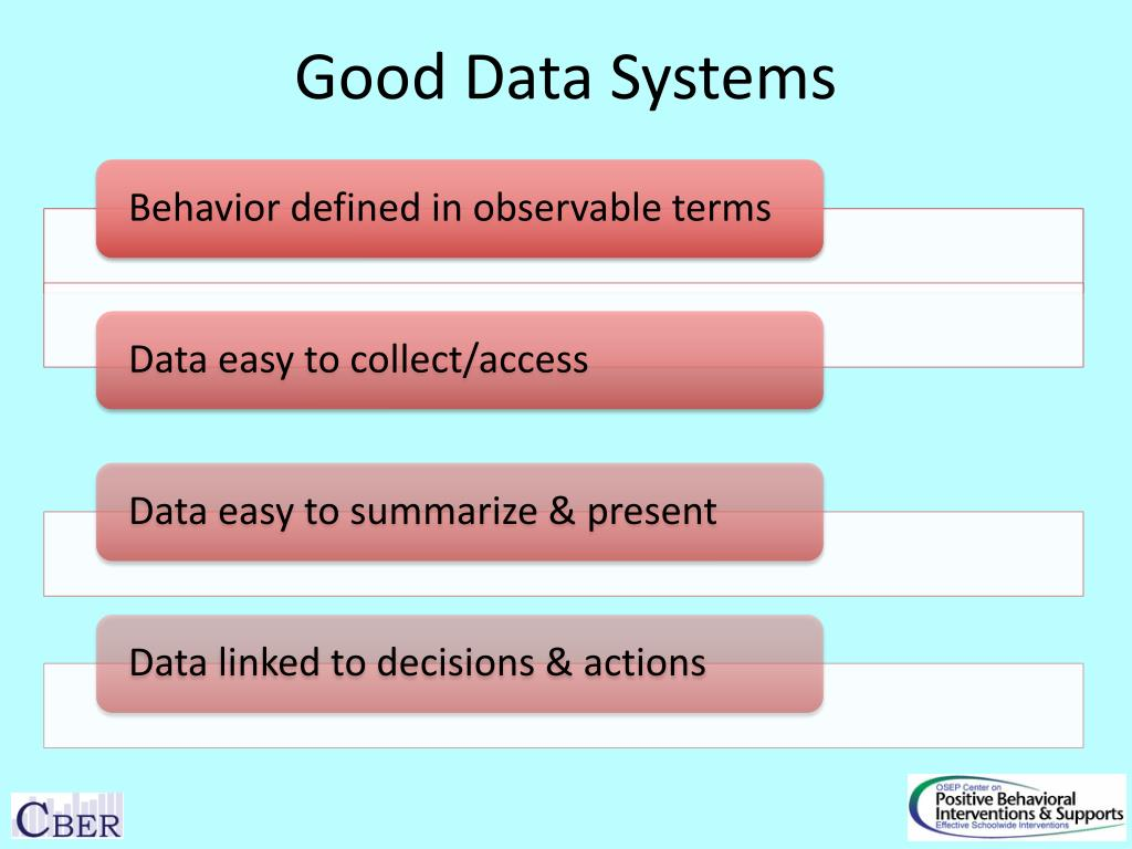 Good Data Systems