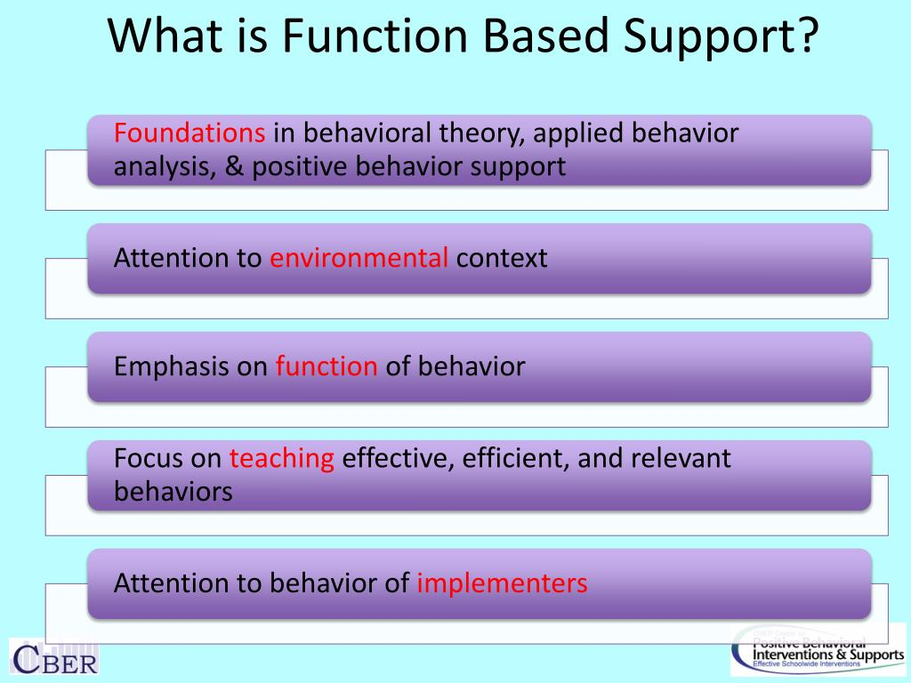 What is Function Based Support?