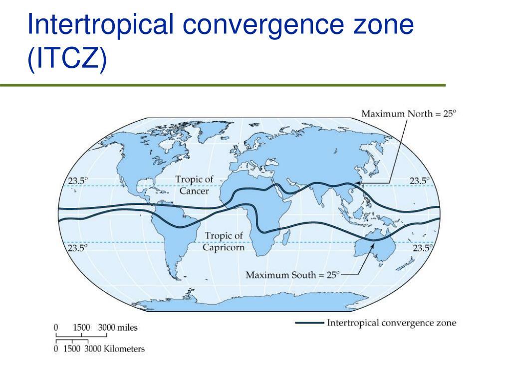 Intertropical convergence zone (ITCZ)