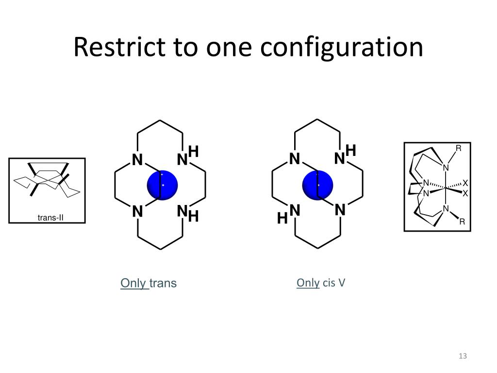Restrict to one configuration