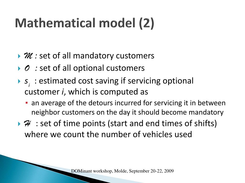 Mathematical model (2)