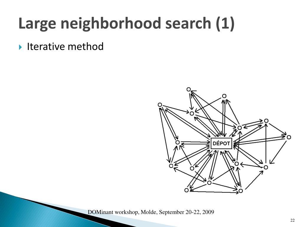 Large neighborhood search (1)