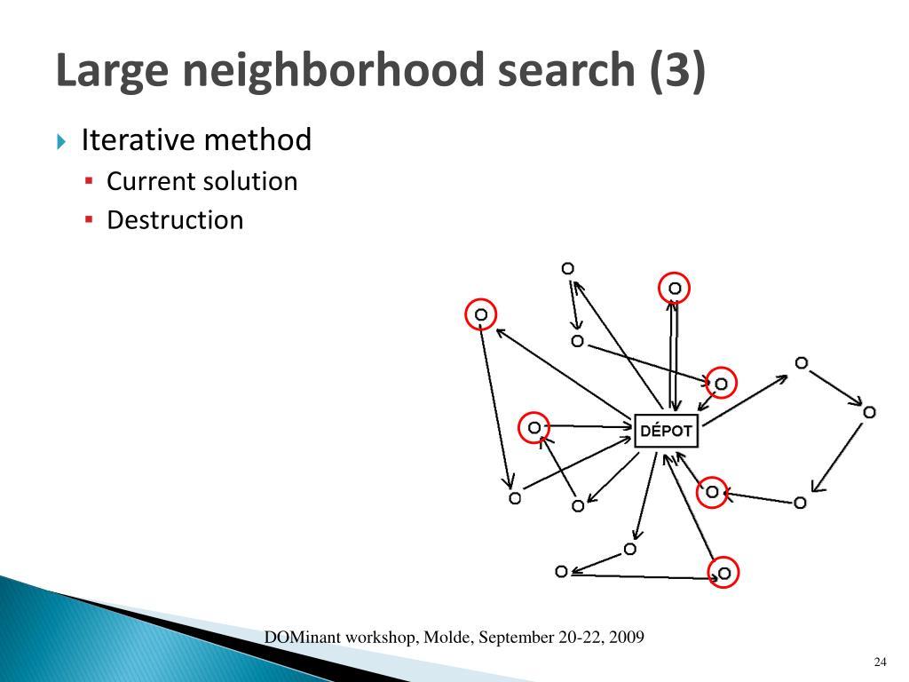 Large neighborhood search (3)