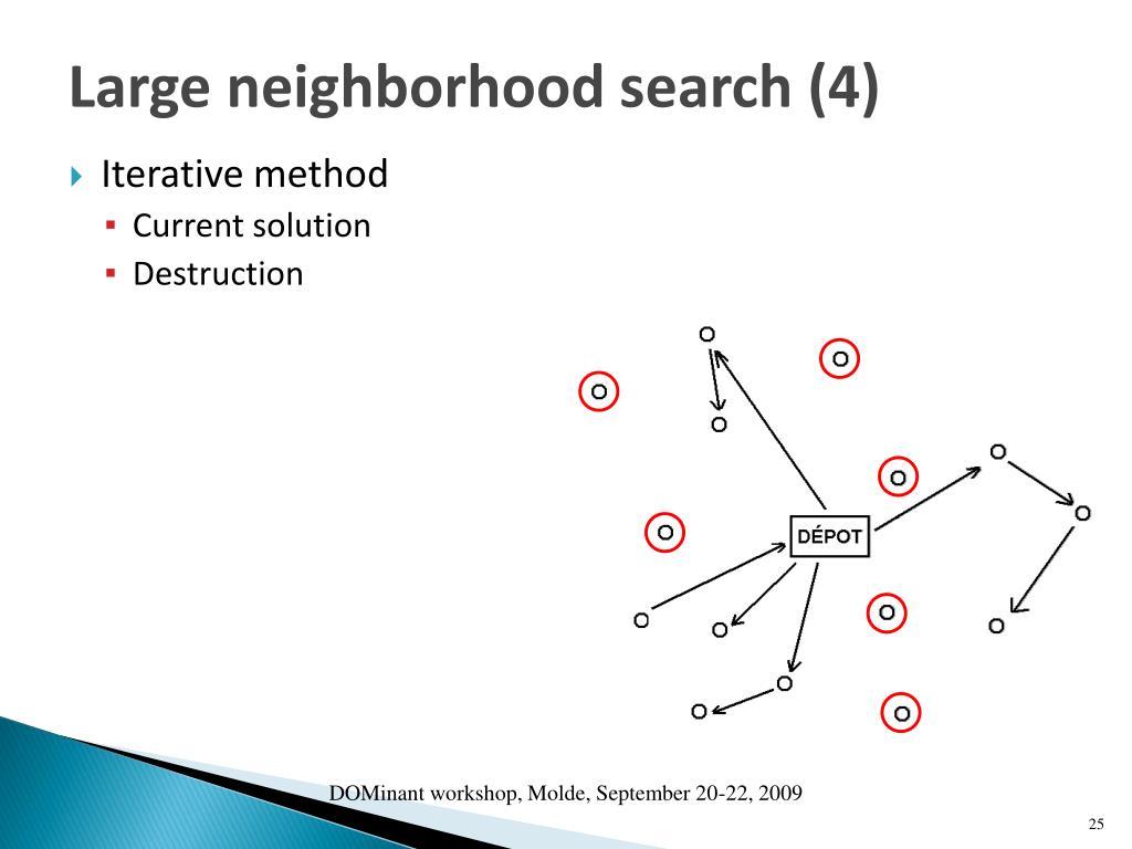 Large neighborhood search (4)