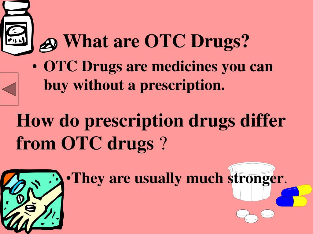 What are OTC Drugs?