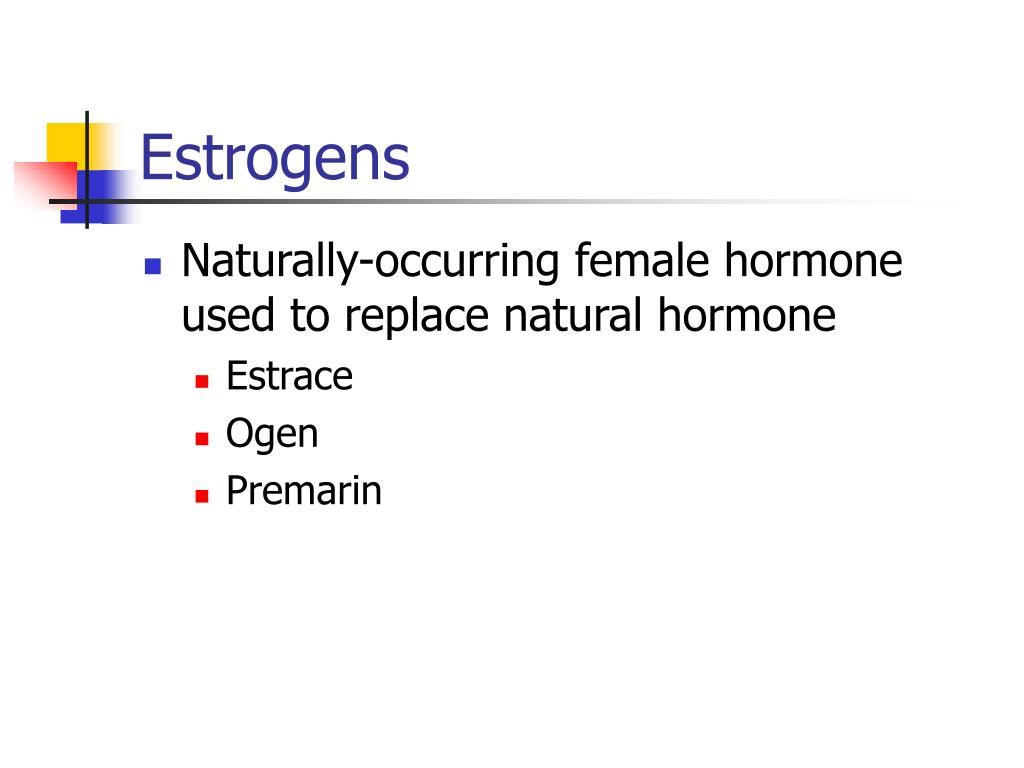 Estrogens
