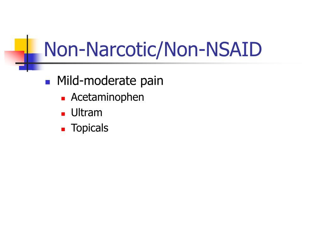 Mild-moderate pain
