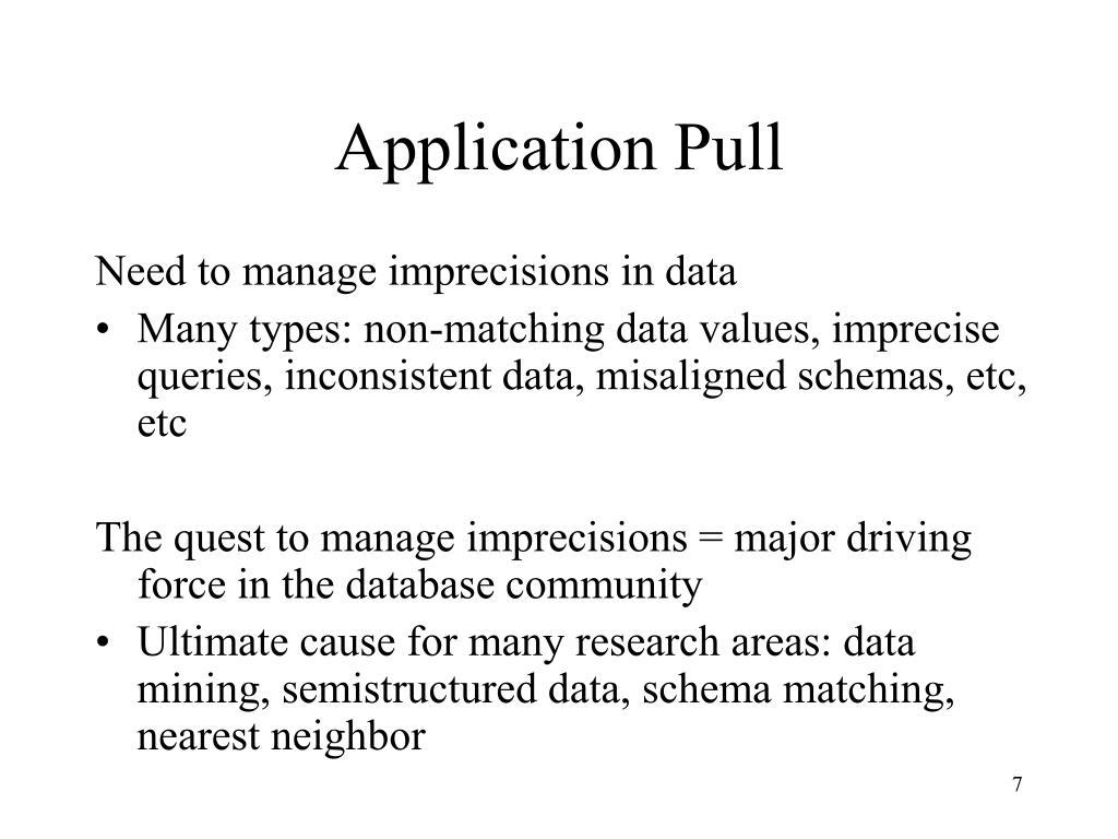 Application Pull